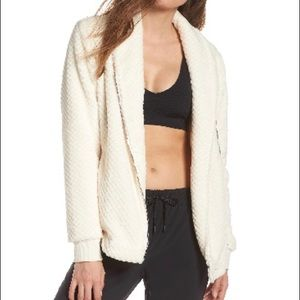 Zella Diamond Fleece Jacket